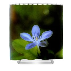 Moon Flower Shower Curtain by Judi Bagwell