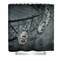 More Then Meets The Eye Shower Curtain by Evelina Kremsdorf