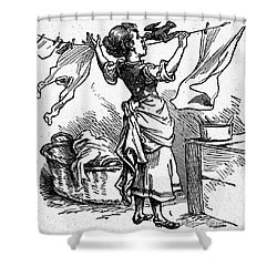 Mother Goose: Maid Shower Curtain by Granger