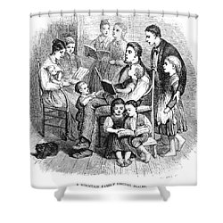 Mountain Family, 1874 Shower Curtain by Granger