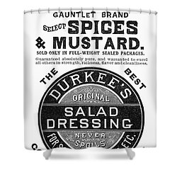 Mustard Ad, 1889 Shower Curtain by Granger