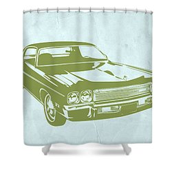 My Favorite Car 5 Shower Curtain by Naxart Studio
