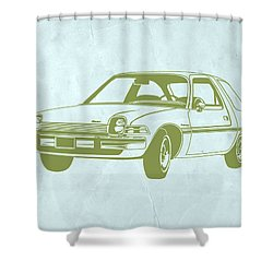 My Favorite Car  Shower Curtain by Naxart Studio