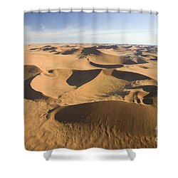 Namib Desert Shower Curtain by Namib Desert