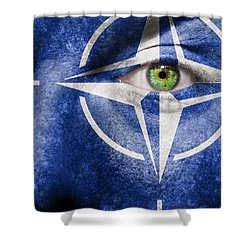 Nato Shower Curtain by Semmick Photo
