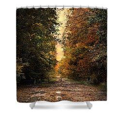 Nature's Secret Shower Curtain by Jai Johnson