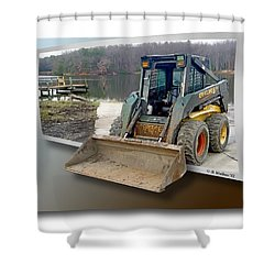 Need A Lift Shower Curtain by Brian Wallace