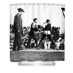 Nelson Vs. Hurley, 1902 Shower Curtain by Granger