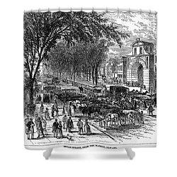 New Jersey: Newark, 1876 Shower Curtain by Granger