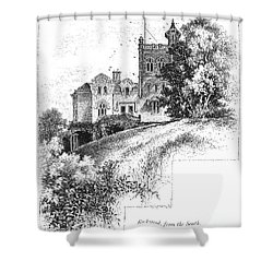 New York State: Villa Shower Curtain by Granger