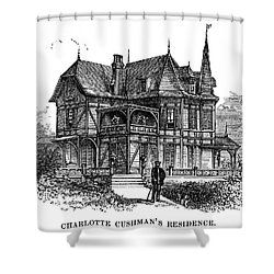 Newport Cottage Shower Curtain by Granger