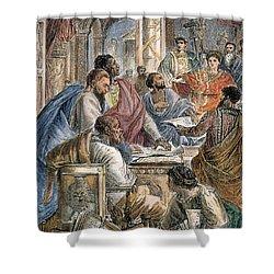 Nicaea Council, 325 A.d Shower Curtain by Granger