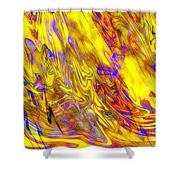 Night At The Opera Shower Curtain by Carol Groenen