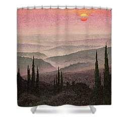 No. 126 Shower Curtain by Trevor Neal