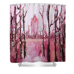 None Can Reach Heaven Who Has Not Passed Through Hell Shower Curtain by Fabrizio Cassetta