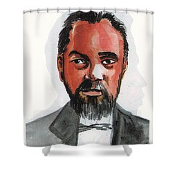 Norbert Rillieux Shower Curtain by Emmanuel Baliyanga