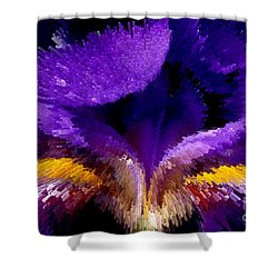 Not Your Average Iris Shower Curtain by Paul W Faust -  Impressions of Light
