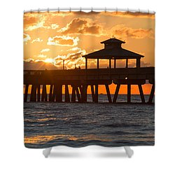 Oh Happy Day Shower Curtain by Debra and Dave Vanderlaan
