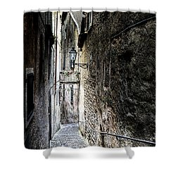 old alley in Italy Shower Curtain by Joana Kruse