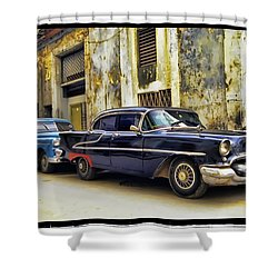 Old Car 1 Shower Curtain by Mauro Celotti