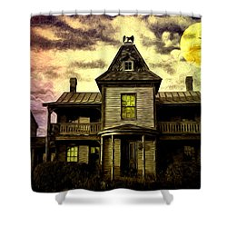 Old House At St Michael's Shower Curtain by Bill Cannon