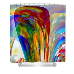 One Summer Dream Shower Curtain by Maria Urso