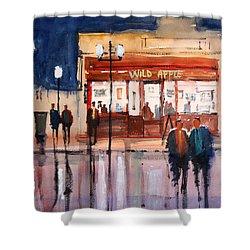 Opening Night Shower Curtain by Ryan Radke
