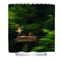 Osprey Motion Shower Curtain by Rrrose Pix