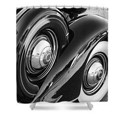 Packard One Twenty Shower Curtain by Gordon Dean II