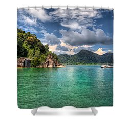 Pangkor Laut Shower Curtain by Adrian Evans