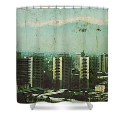 Paradise Lost Shower Curtain by Andrew Paranavitana
