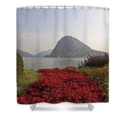 Parco Civico Lugano Shower Curtain by Joana Kruse