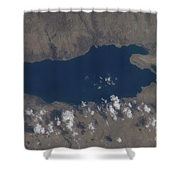 Part Of The Dead Sea And Parts Shower Curtain by Stocktrek Images
