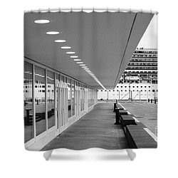 Passenger Terminal Shower Curtain by Gaspar Avila