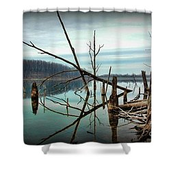 Path To Enlightment Shower Curtain by Paul Ward