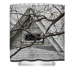 Peak Shower Curtain by Donna G Smith