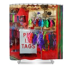 Pet Leashes And Harnesses For Sale Shower Curtain by Susan Savad