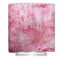 Pink Lady Shower Curtain by Christopher Gaston
