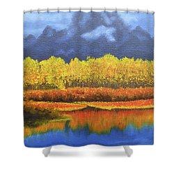 Plein Air 103 Shower Curtain by Thu Nguyen