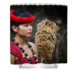 Polynesian Beauty Shower Curtain by Ralf Kaiser