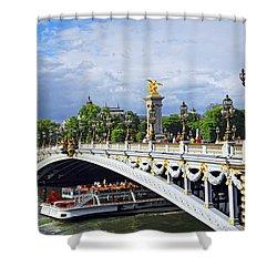Pont Alexander IIi Shower Curtain by Elena Elisseeva