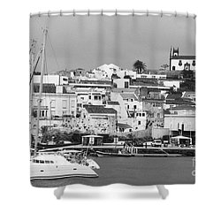 Portuguese City Shower Curtain by Gaspar Avila