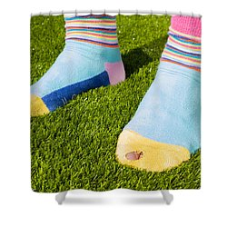 Poverty Shower Curtain by Semmick Photo