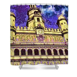 Poznan City Hall Shower Curtain by Mo T
