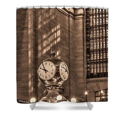 Precious Time Shower Curtain by Susan Candelario