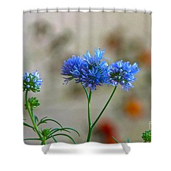 Pretty Weeds Shower Curtain by Byron Varvarigos