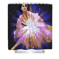 Prima Shower Curtain by Seth Weaver