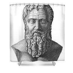 Publius Pertinax (126-193) Shower Curtain by Granger