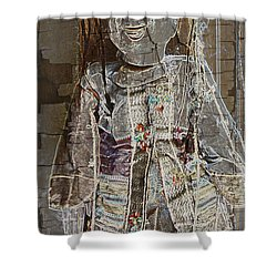 Puppet Fantasy Shower Curtain by Mick Anderson