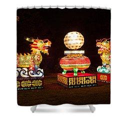 Qilin Shower Curtain by Semmick Photo